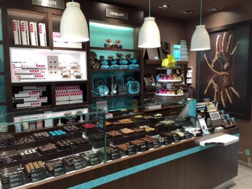 vente boutique de chocolats fins sous franchise